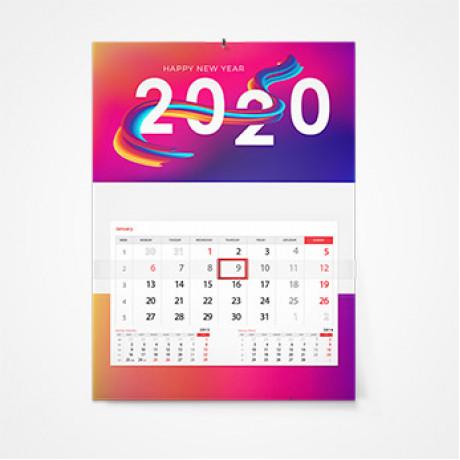 Дизайн календарей в Москве